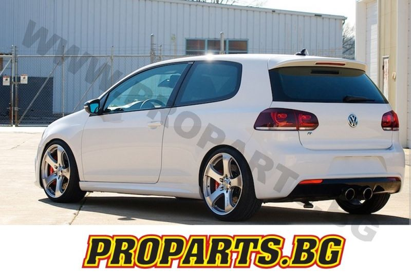 volkswagen golf 6 r sport tuning sto stange hinten gti. Black Bedroom Furniture Sets. Home Design Ideas