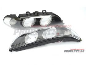BMW e39 headlight lenses facelift design 95-00