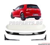 Aerodynamic roof spoiler  for Volkswagen Golf 7 12-19