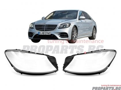 Headlamp lenses for Merdedes Benz W222 18-21 facelift