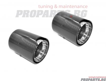 Oval Carbon Fiber Exhaust Tip