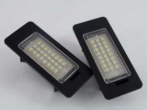 LED NUMBERPLATE LIGHTING FOR BMW E60