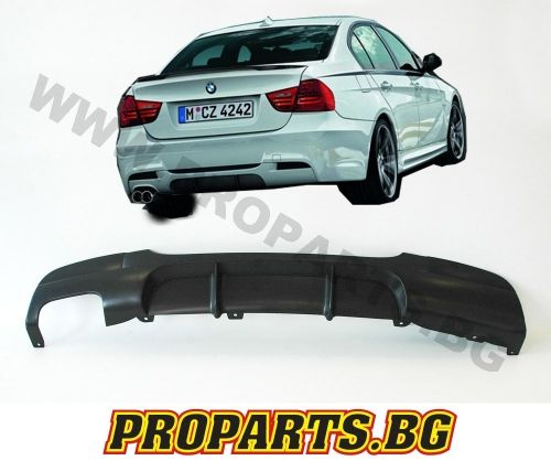 M performance diffuser for 3er e90, e91 320i, 325i, 330i, 330d, 325d, 320d