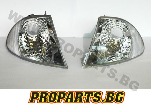 Chrystal corner lights for BMW e46 4d 98-01