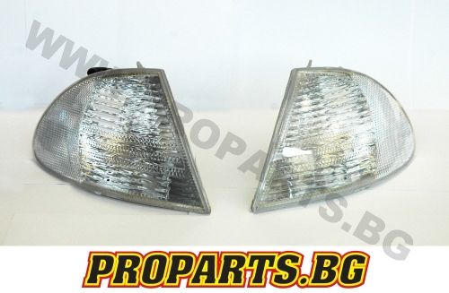 White corner lights for BMW e46 4d 98-01