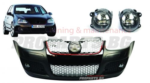 FRONT BUMPER GTI LOOK FOR VOLKSWAGEN GOLF 5 2004-2009