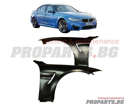 M3 look fenders for BMW F30 3er 2012-2018