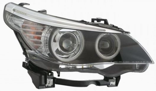 Headlights For Bmw E60 04 Facelift Type