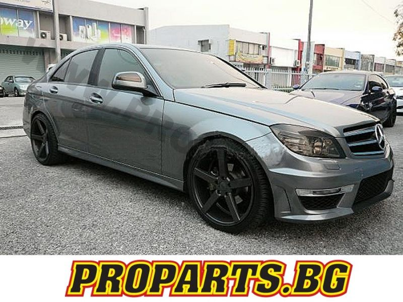 mercedes c klasse w204 c63 amg paket umbau sto stange mopf. Black Bedroom Furniture Sets. Home Design Ideas