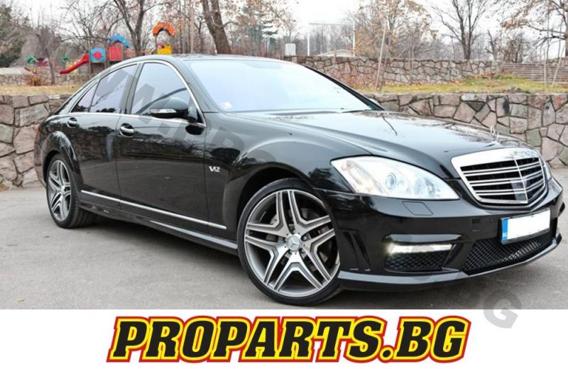 mercedes w221 s class 2008 2013 s65 amg conversion abs. Black Bedroom Furniture Sets. Home Design Ideas