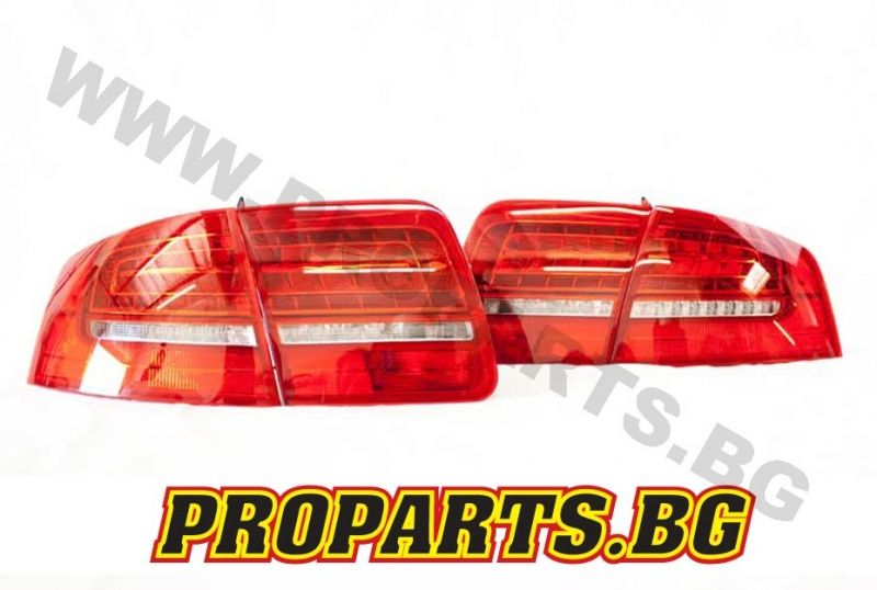 Full Led Facelift Tail Lights For Audi A8 D3 02 09 Geniune