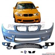 1M front bumper for BMW e82, e87 1-series 04-10