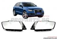 Headlamp lenses for Audi Q5 08-12
