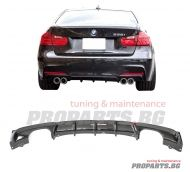 M performance diffuser for BMW f30 12