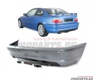 M sport rear bumper for BMW e46 2 door coupe / cabriolet
