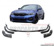 M performance front lip spoiler for BMW 3er G20 2019- with M sport bumper