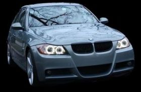 LED Angel Eyes крушки - Ангелски очи за BMW e90/е91 3-та серия 2005-2009 година