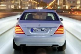 SET OF LED TAILLIGHTS FOR MERCEDES BENZ S CLASS 05-11 FACELIFT TYPE