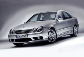 AMG FULL BODY KIT FOR MERCEDES-BENZ C-CLASS 00-06 W203