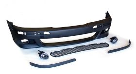 M front bumper for BMW 5er 96-03 e39 with fog lights.