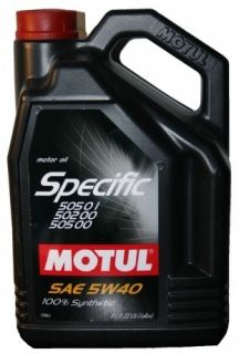 MOTUL Specific VW 505.01, 505.00, 502.00 5W-40 5L