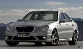 AMG FULL BODY KIT FOR MERCEDES-BENZ E-CLASS 02-06 W211