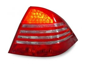 SET OF LED TAILLIGHTS FOR MERCEDES BENZ S CLASS 98-05 FACELIFT TYPE