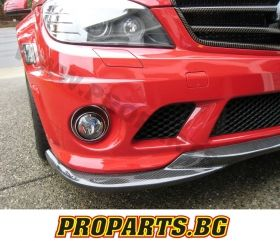 Front lip spoiler for Mercedes W204 C63 AMG 06-12