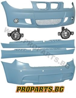 Aerodynamic М package for BMW е87 04-10, including