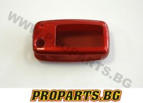 Plastic key case for Volkswange - red