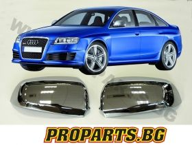 Chorome Mirror Covers for Audi  04-08 RS6 type