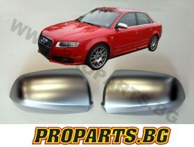 Chrome Mirror Covers for Audi A4 B6/B7 00-07 RS4 type