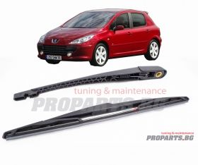 Rear blade set for Peugeot 307 hatchback
