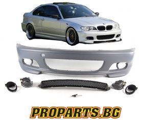 M FRONT BUMPER FOR BMW 3 98-04 COUPE