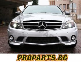 AMG FULL BODY KIT FOR MERCEDES-BENZ C-CLASS 06+ W204