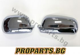 Chrome Mirror Covers for VW Golf 4, Golf 3, Passat 5, Polo, Seat Leon