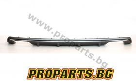 Rear sport 63 AMG diffuser with exhausts tips for Mercedes Benz W218 CLS
