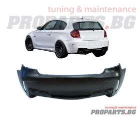 1M rear bumper for BMW 1er 04-11 e87