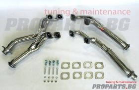 Sport exhaust headers for BMW e39, e53, e34, e38 с M60, M62, S62 engines