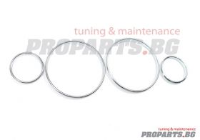 Dashboard rings for BMW 39 5er 96-03