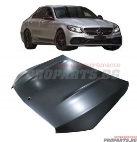 C63 AMG look bonnet for W205 C-class 14+