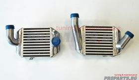 Dual Front Mount Intercooler for Audi S4 B5 94-01