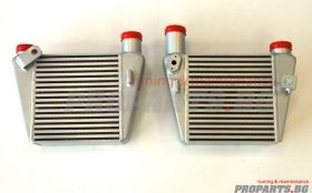 Dual Front Mount Intercooler for Audi A4 B7 2.0 TFSI 04-07