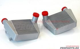 Dual Front Mount Intercooler for A6 4F 3.0 TDi 04-11