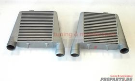 Dual Front Mount Intercooler for A8 4F 4.2 TDi