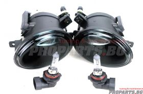 Smoked fog lights for BMW e46 / e39 M tech bumpers