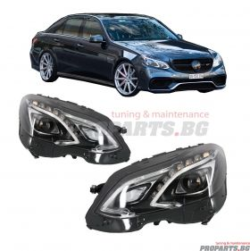 Facelift Headlights for Mercedes Benz E Class W212 9-16