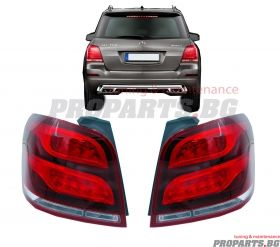 LED tail lights for Mercedes Benz GLK Facelift type