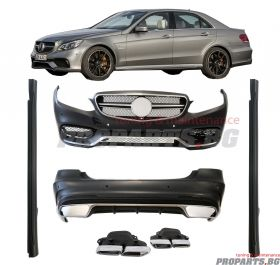 E63 AMG BODYKIT FOR MERCEDES-BENZ E-CLASS 13- W212 Facelift