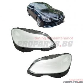 Headlamp lenses for Mercedes Benz W212 13-16 facelift